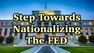 Countries Agree to Ditch Dollar While Trump Moves Closer to Nationalize FED; Treasury Takeover? pt 1